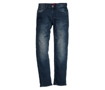 Seattle: Stretchige Sweat-Jeans blau