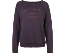 Fleece Sweater ONE Choice lila / dunkellila