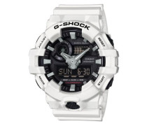 Chronograph 'ga-700-7Aer' schwarz / weiß