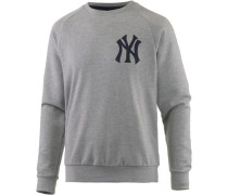 'New York Yankees' Sweatshirt Herren graumeliert