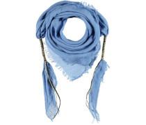 Baumwoll Tuch blau