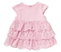 Baby Kleid mit Flügelärmel rosa