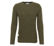 Pullover aus Grobstrick 'Rope' khaki