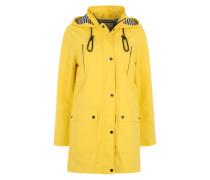 Regenjacke 'Cozy' gelb