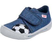 Baby Hausschuhe Bully für Jungen Weite M3 Fußball