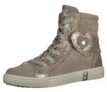 Sneaker hellbraun / grau