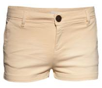 Leichte Shorts aus Baumwollmix 'Wylde' beige