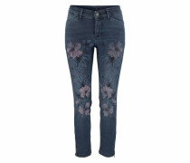 Slim-fit-Jeans 'Dream summer Chic' blue denim