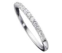 Ring: Verlobungsring / Vorsteckring / Memoire Weißgold silber