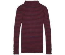 "Sweatshirt ""thdw Basic STP TNK LT Knit L/S 20"" blutrot / schwarz"