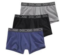 Boxer (3 Stück) blau / grau / schwarz