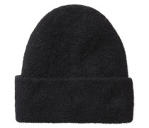 Woll-Mütze schwarz