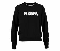 Sweatshirt 'Core' schwarz / weiß