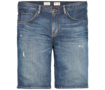 Jeans »Denton Short - STR Lorain Indigo« blue denim
