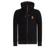 Male Zipped Jacket schwarz