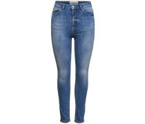 'Studio hw Ankle-Skinny Fit' Jeans blue denim