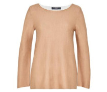 Doubleface Pullover sand