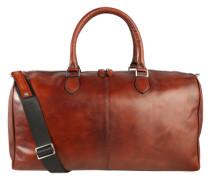 Reisetasche 'Domus' aus Leder rostbraun