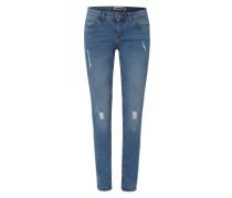 'NMEve Destroyed' Jeans blau