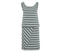 Sommerkleid 'Objelona' grün / weiß