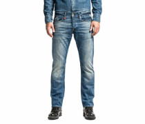 Slim-fit-Jeans »Waitom« blau