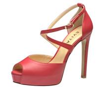 Damen Sandalette rot