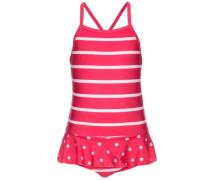 Badeanzug 'nitzarina' pink / weiß