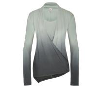 Shirt 'varuna' grau / grün
