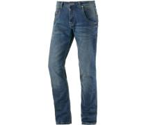Harold TZ Straight Fit Jeans Herren blau