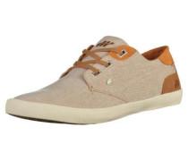 Sneaker beige / cognac
