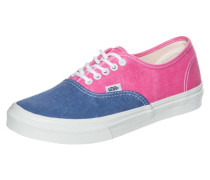 Sneaker Authentic Washed rauchblau / pink