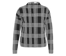 Jacquard-Pullover in kastiger Form
