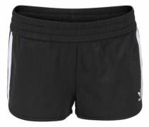 Shorts im Retro-Stil schwarz / weiß