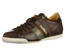 Sneaker dunkelbraun / oliv