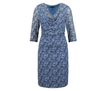 Kleid 'Waterfall flattering dress' blau