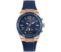Digitaluhr »C0002M1« navy / gold