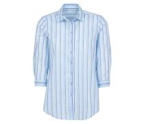 Dreiviertelarm Bluse Comfort FIT blau