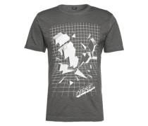 T-Shirt mit Print 'T-Joe-sx' schwarz