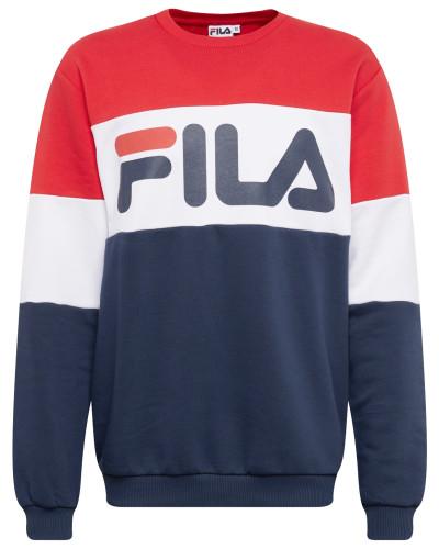 Sweatshirt dunkelblau / rot / weiß
