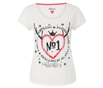 T-Shirt Heart NO 1 beige