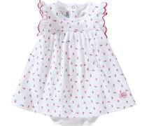Baby Body Kleid rot / weiß