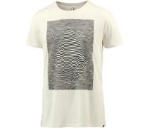Printshirt 'Vibration' weiß