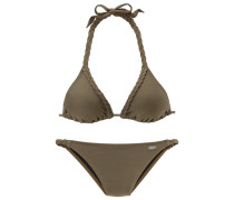 Triangel-Bikini grün