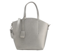 Shopper im Metallic-Look silber