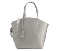 Shopper im Metallic-Look silber
