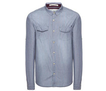 Shirt 'sound' blau
