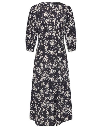 Kleid 'mia Half Sleeve Split Midi Dress'