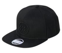 Snapback-Cap schwarz