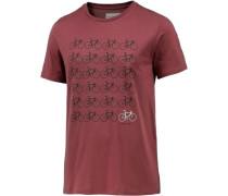 James T-Shirt Herren rot