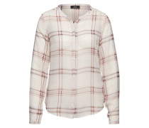 Karobluse 'Gally Check' pink / weiß